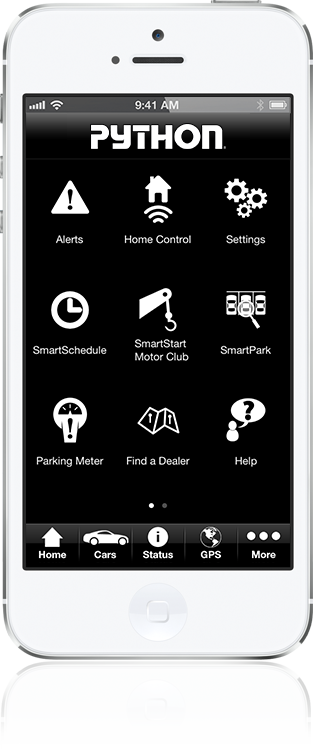 car starter app smartstart car accessories. Black Bedroom Furniture Sets. Home Design Ideas